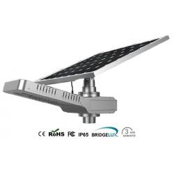 Lampadaire solaire LED intégré 30W