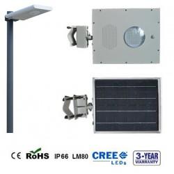 Lámpara Solar LED Integrada 8W