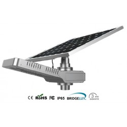 Lámpara solar LED integrada 20W