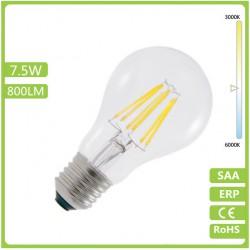 Ampoule LED Filament E27 - 8W - Blanc
